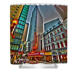 The Paramount Center And Opera House In Boston Shower Curtain