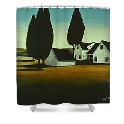 The Parson's House Shower Curtain