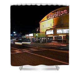 The Pavilion Myrtle Beach Shower Curtain