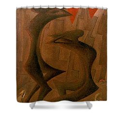 The Penance Dance Shower Curtain