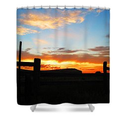 The Peninsula Shower Curtain