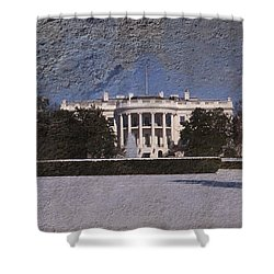The Peoples House Shower Curtain by Skip Willits