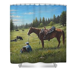 The Perfect Day Shower Curtain