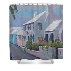 The Perfume Factory Shower Curtain by Dianne Panarelli Miller
