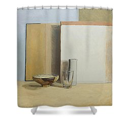 The Peruvian Bowl  Shower Curtain by William Packer