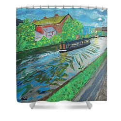 The Pickle - Grand Union Canal Shower Curtain