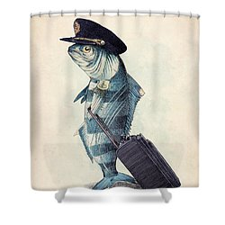 The Pilot Shower Curtain