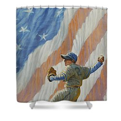 The Pitcher Shower Curtain