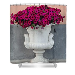 Shower Curtain featuring the photograph The Planter by Natalie Ortiz