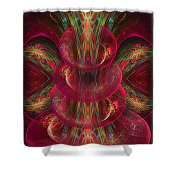 The Playground In My Mind 2 - Abstract Fantasy Art By Giada Rossi Shower Curtain by Giada Rossi