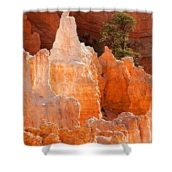 The Pope Sunrise Point Bryce Canyon National Park Shower Curtain
