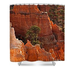 The Popesunrise Point Bryce Canyon National Park Shower Curtain