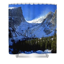 The Power And The Glory Shower Curtain by Eric Glaser