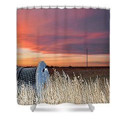 The Prairie Shower Curtain