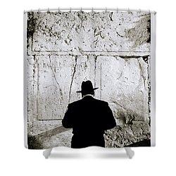 Inspirational Prayer Shower Curtain