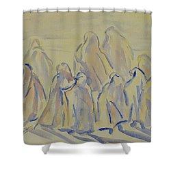 The Prayers...ii Shower Curtain by Xueling Zou