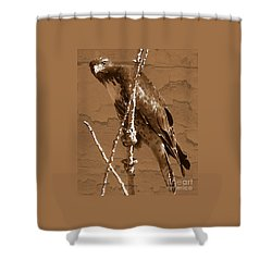 The Predator Digital Painting Shower Curtain