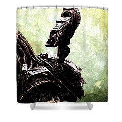 The Predator Shower Curtain