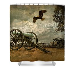 The Price Of Freedom Shower Curtain by Lois Bryan
