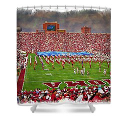 The Pride Of Oklahoma - Impressions Shower Curtain