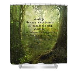 The Princess Bride - Mawage Shower Curtain