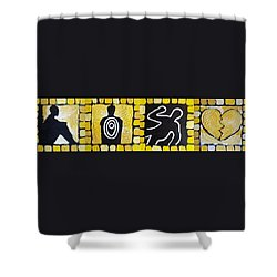 The Progression Of Despair Shower Curtain