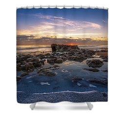 The Promise Shower Curtain by Debra and Dave Vanderlaan