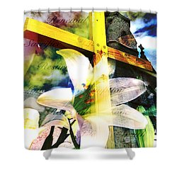 Shower Curtain featuring the photograph The Promise by Eleanor Abramson