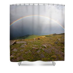Shower Curtain featuring the photograph The Promise by Jim Garrison