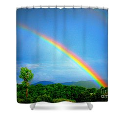 The Promise Shower Curtain by Patti Whitten