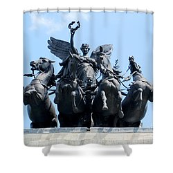 The Quadriga Shower Curtain