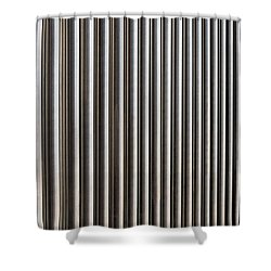 Shower Curtain featuring the photograph The Rack by Wendy Wilton