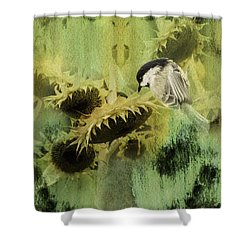 The Reach Shower Curtain by Diane Schuster