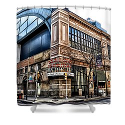 The Reading Terminal Market Shower Curtain by Bill Cannon