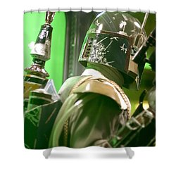 The Real Boba Fett 5 Shower Curtain by Micah May