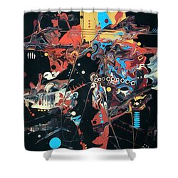 The Real Mccoy Shower Curtain