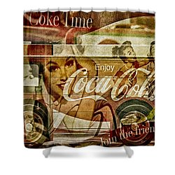 The Real Thing Shower Curtain