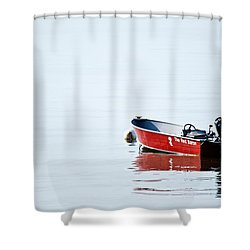 The Red Baron Shower Curtain by Karol Livote