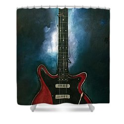 The Red Special Shower Curtain