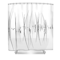 The Reeds Shower Curtain by Andrea Kollo