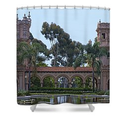 The Reflection Pool Shower Curtain
