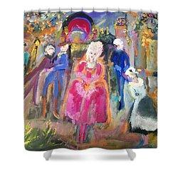 The Regency Ballet Shower Curtain by Judith Desrosiers