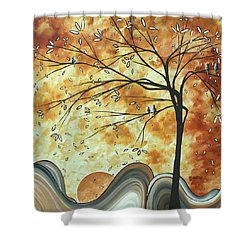 The Resting Place By Madart Shower Curtain by Megan Duncanson