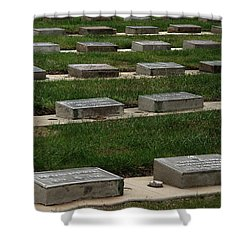 The Resting Place Shower Curtain by Peter Piatt