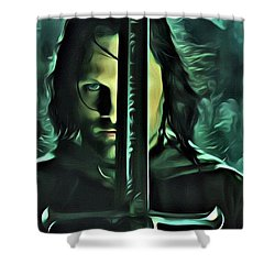 The Return Of The King Shower Curtain