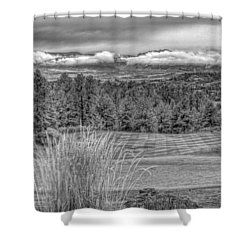 Shower Curtain featuring the photograph The Ridge 18th by Ron White