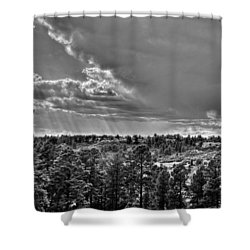 Shower Curtain featuring the photograph The Ridge Golf Course by Ron White