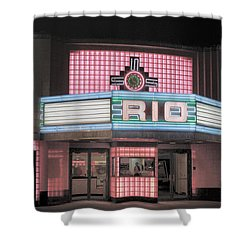 The Rio At Night Shower Curtain