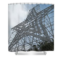 The Rising Star Shower Curtain