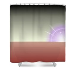 The Rising Shower Curtain by Tim Allen